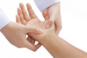 Reflexology hand shutterstock_100642558